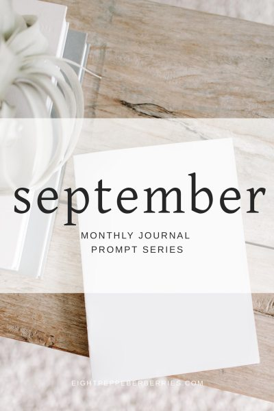 Journal Prompts September 2018 Edition