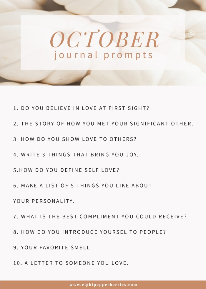 october 2019 journal prompts