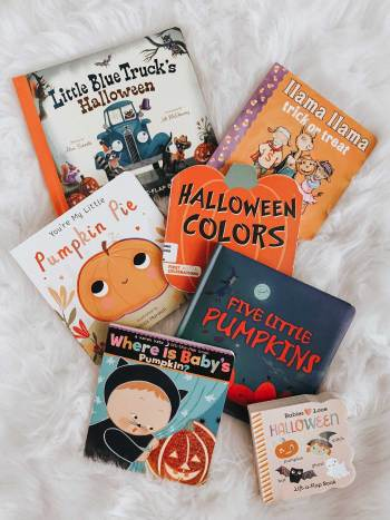 Halloween board books for toddlers