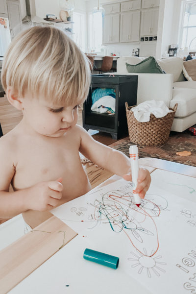 H coloring the free printable spring coloring sheet