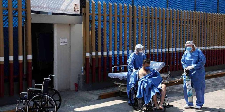 por Enfermo llega al hospital Triage2