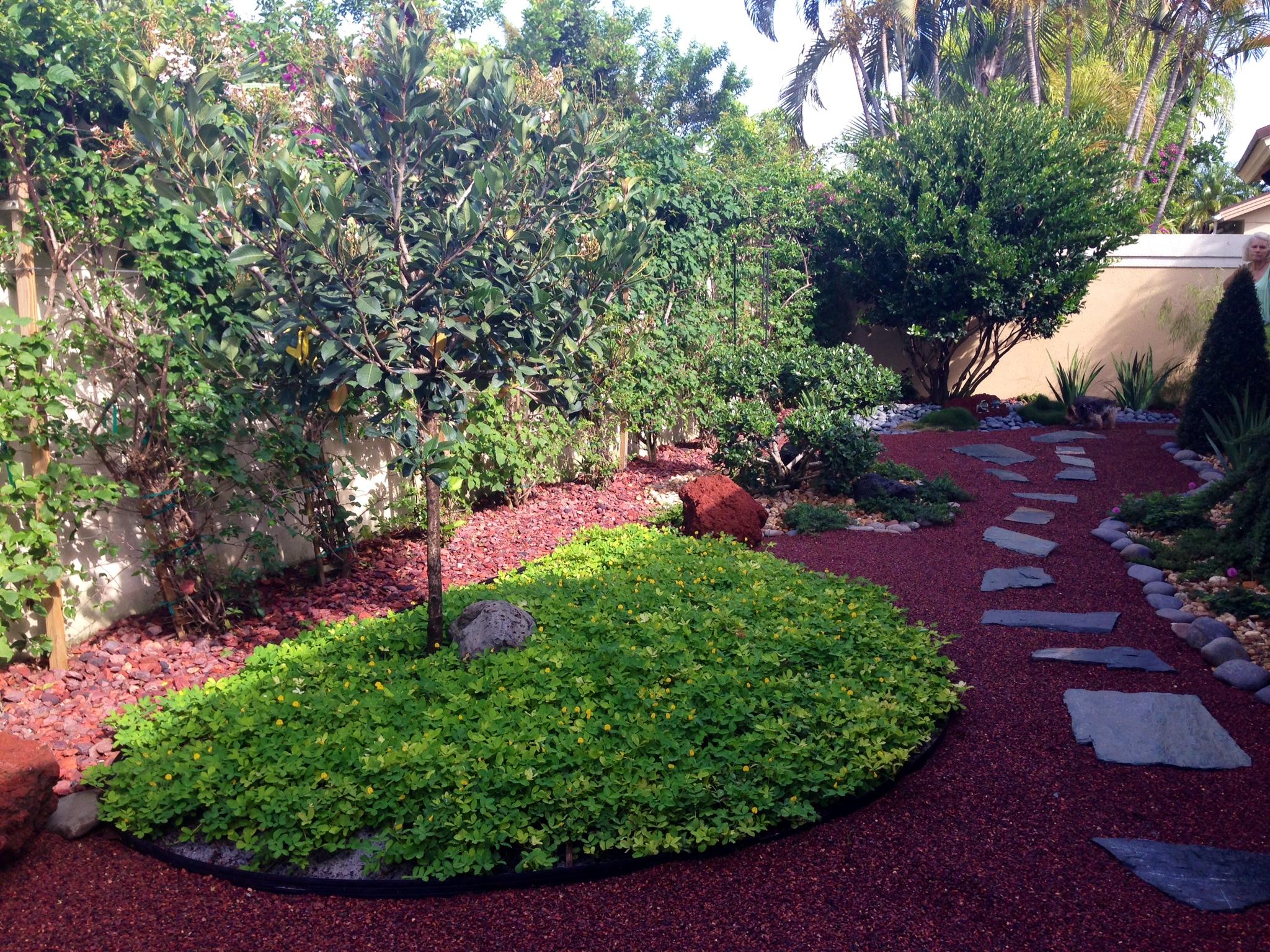 » Asian Garden for Jupiter, Florida by Eileen G Designs on Backyard Japanese Garden Design Ideas id=64955