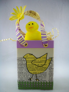 Recycled Dove Soap Box