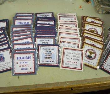 Military magnet order