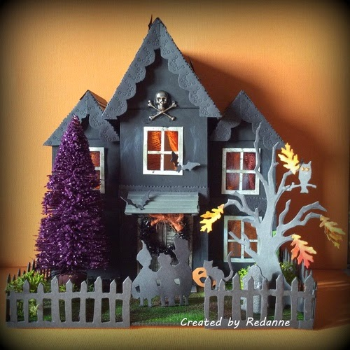 Haunted House ATB by Anne Redfern | Eillenhull.com