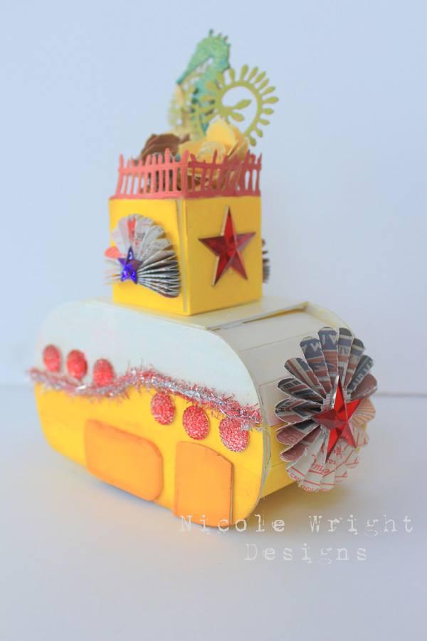Sizzix Yellow Submarine by Nicole Wright