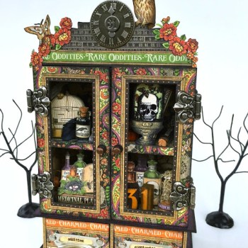 Hauntings and Holidays with Sizzix and Graphic 45 Wrap Up