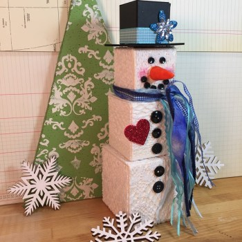 Beth Watson and How to Build a Snowman Tutorial