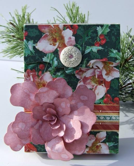 Create paper flowers with sizzix paper flower party eileen hull sizzix paper flower party recipe card box by donna budzynski mightylinksfo