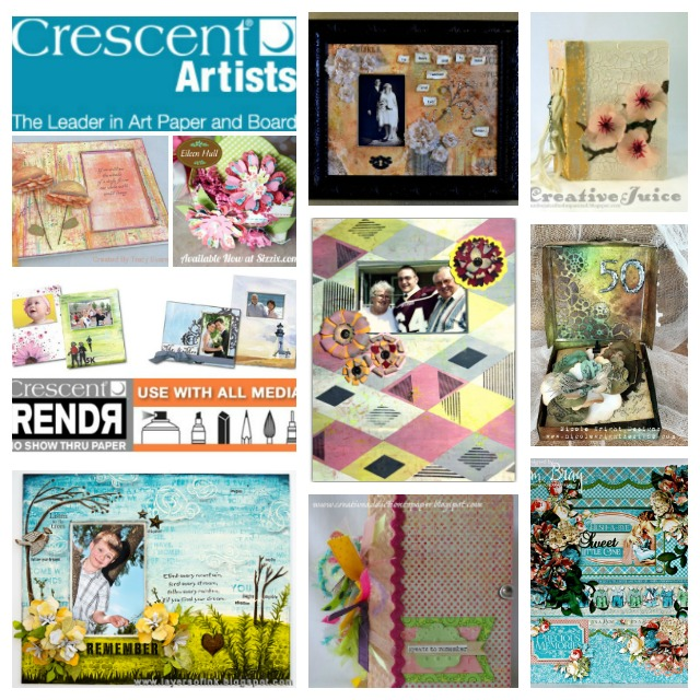 Create with Crescent and Eileen Hull Sizzix dies!  Tutorials and Project Ideas from the Inspiration Team