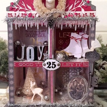 Holiday Eileen Hull Sizzix Projects with DCWV
