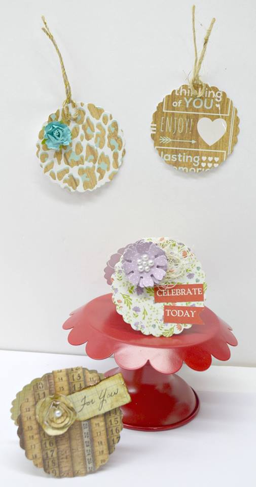 More Sizzix Card Making Ideas: Eileen Hull Cookie Box Cards and Tags by Donna Budzynski