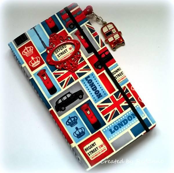 Heartfelt Sizzix Project Ideas: London Travel Journal by Anne Redfern