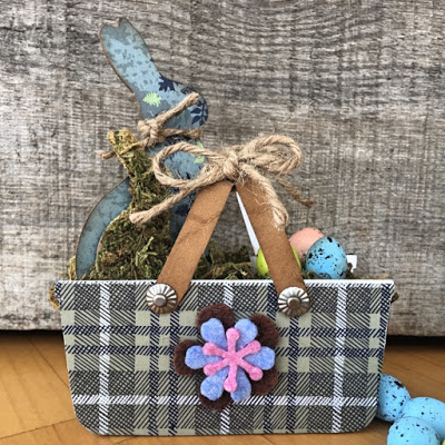 Eileen Hull's Heartfelt Sizzix Collection : Basket full of Bunnies by Nicole Wright