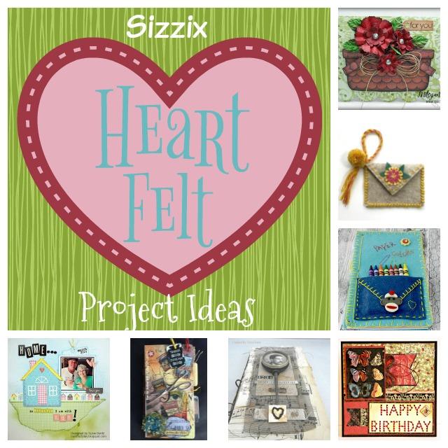Heartfelt Sizzix Project Ideas