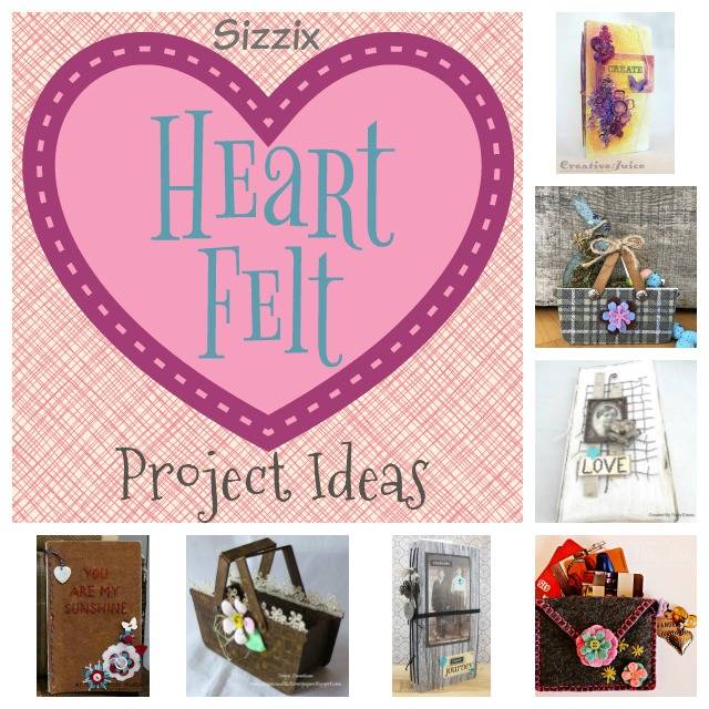 Heartfelt Sizzix Collection by Eileen Hull : Project Ideas