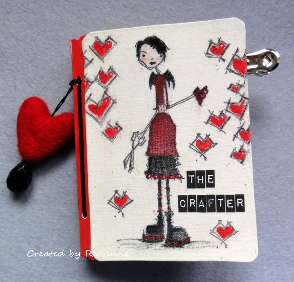 Eileen Hull Sizzix Projects with Stampotique: Stamped Passport Book Tutorial by Anne Redfern