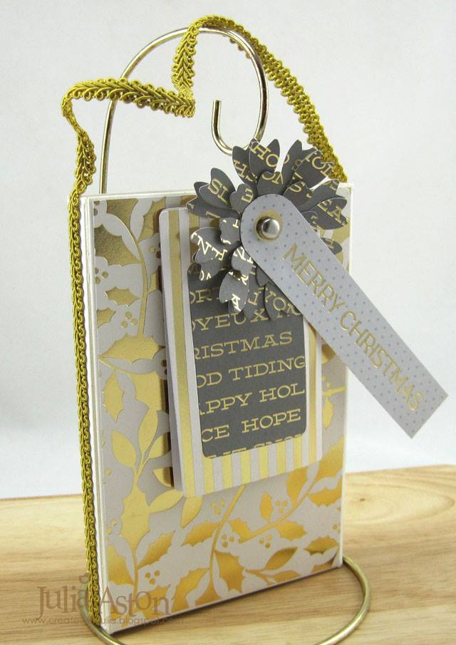 New Eileen Hull Sizzix Collection Book Club Sneak Peeks: Photo Box Card Holder by Julia Aston