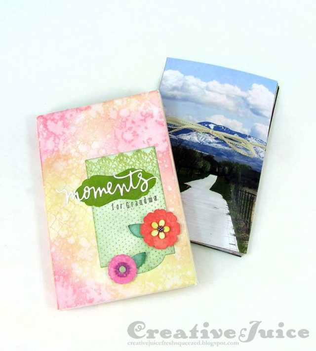 Book Club Sizzix Collection Preview: Photo Storage Box by Lisa Hoel