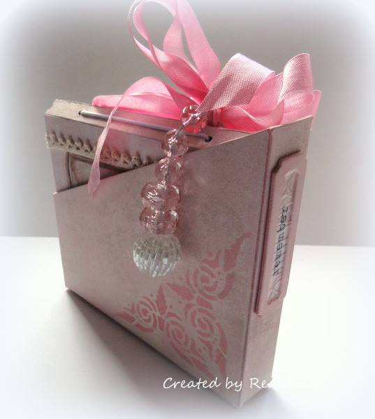 New Book Club Sizzix Collection Preview: Card Box, Planner and Organizer by Anne Redfern