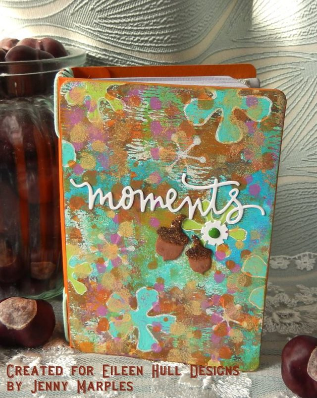 Eileen Hull Holiday Sizzix Project Tutorials: Party Planner Passport Book by Jenny Marples