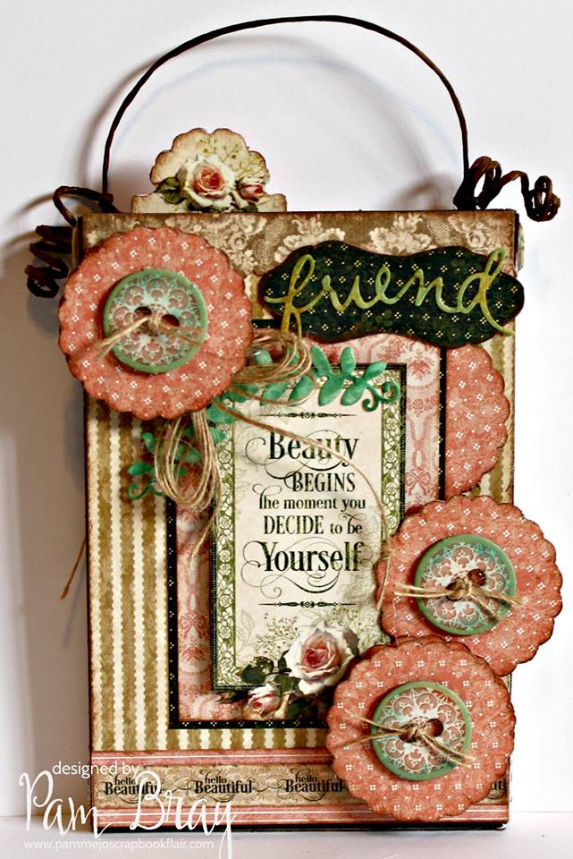 Sizzix Book Club Project Tutorials: Stamp Storage Gift Set by Pam Bray