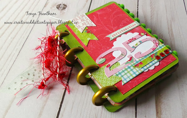 Eileen Hull Holiday Gifts and Decor Projects: Christmas Time Disc Mini Album by Tonya Trantham