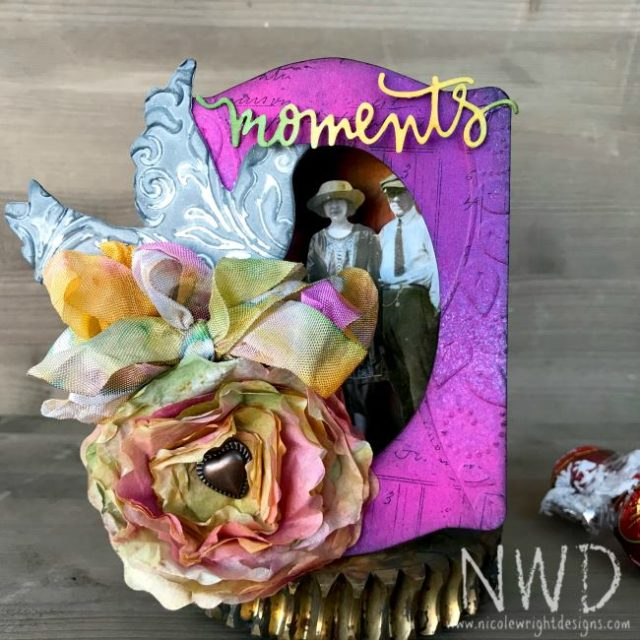 Book Club Sizzix Projects to Love: Creative Romance Trinket Box by Nicole Wright