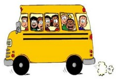 Write on the bus - balancing writing and family
