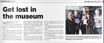 Cook Strait News features Lost In The Museum