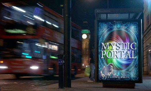 Mystic Portal - A You Say Which Way Adventure hanging out at your local bus stop!