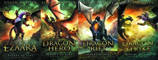 Riders of Fire, epic fantasy with dragons.