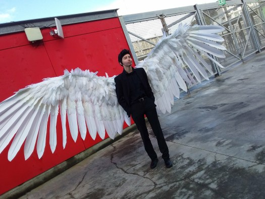 Ravenheart Cosplay - Armageddon Wellington with Lucifer Morgenstar's Wings