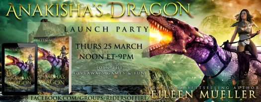 Anakisha's Dragon Launch Party on Facebook