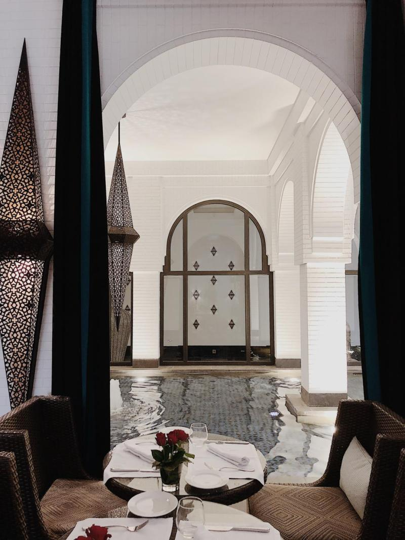 where to stay in Marrakech | Movenpick Hotel Mansour Eddahbi