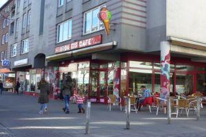 Adda's Eisdiele setzt seit 1963 auf Tradition. Foto: Mareike Dudwiesus