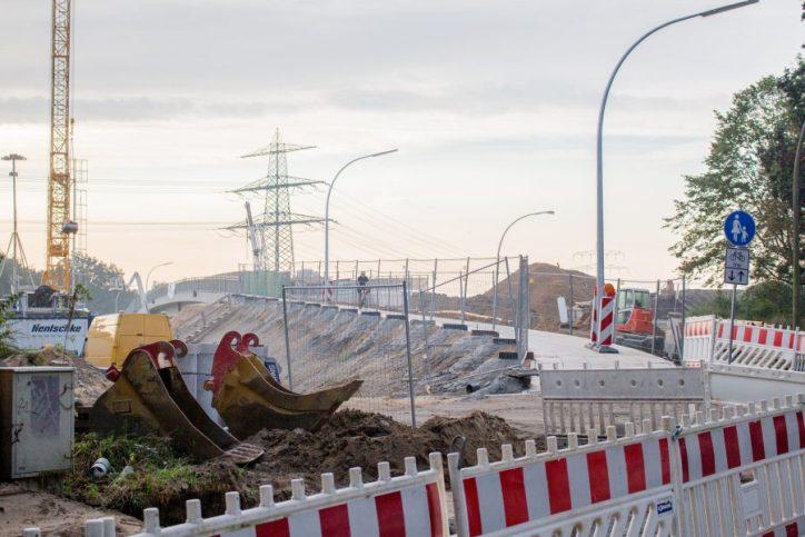 A7: Sperrung der Brücke Frohmestraße