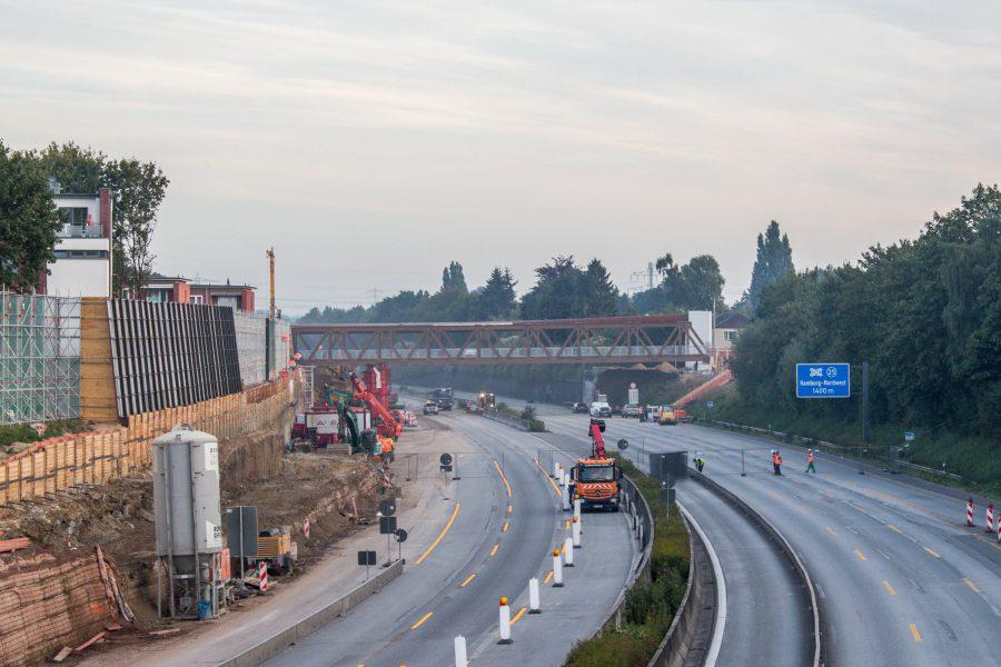 A7-Deckel: Fahrbahnsperrung ab Mittwoch