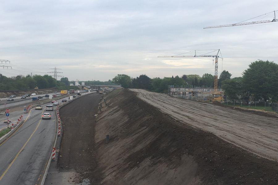Oldesloer Straße: Fahrstreifensperrung in Schnelsen