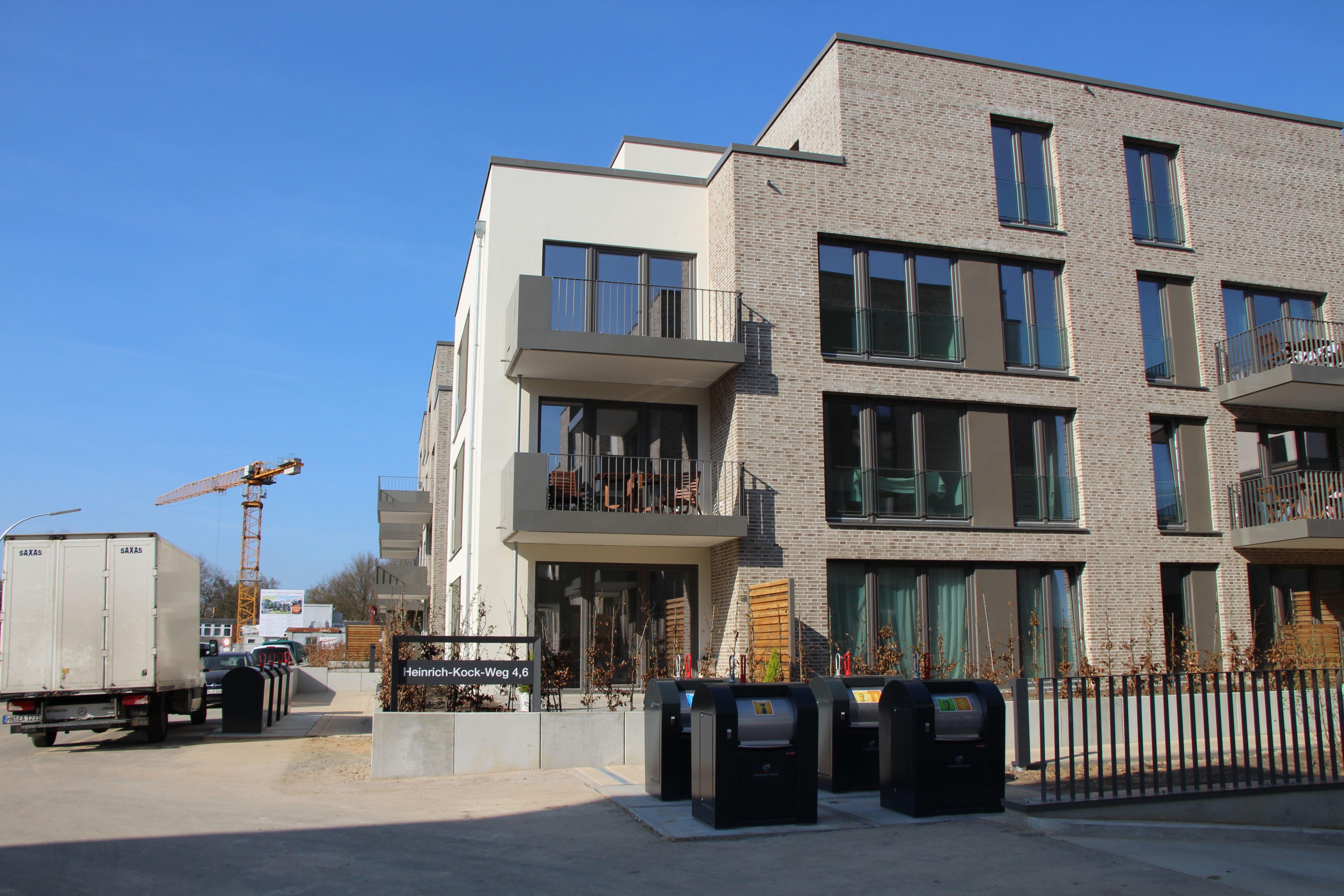 Neues Wohnquartier in Lokstedt