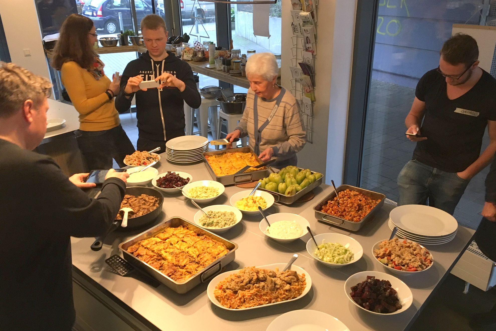 In der Kurkuma Kochschule findet ein Thai Kochkurs statt. Foto: Anke Wistinghausen