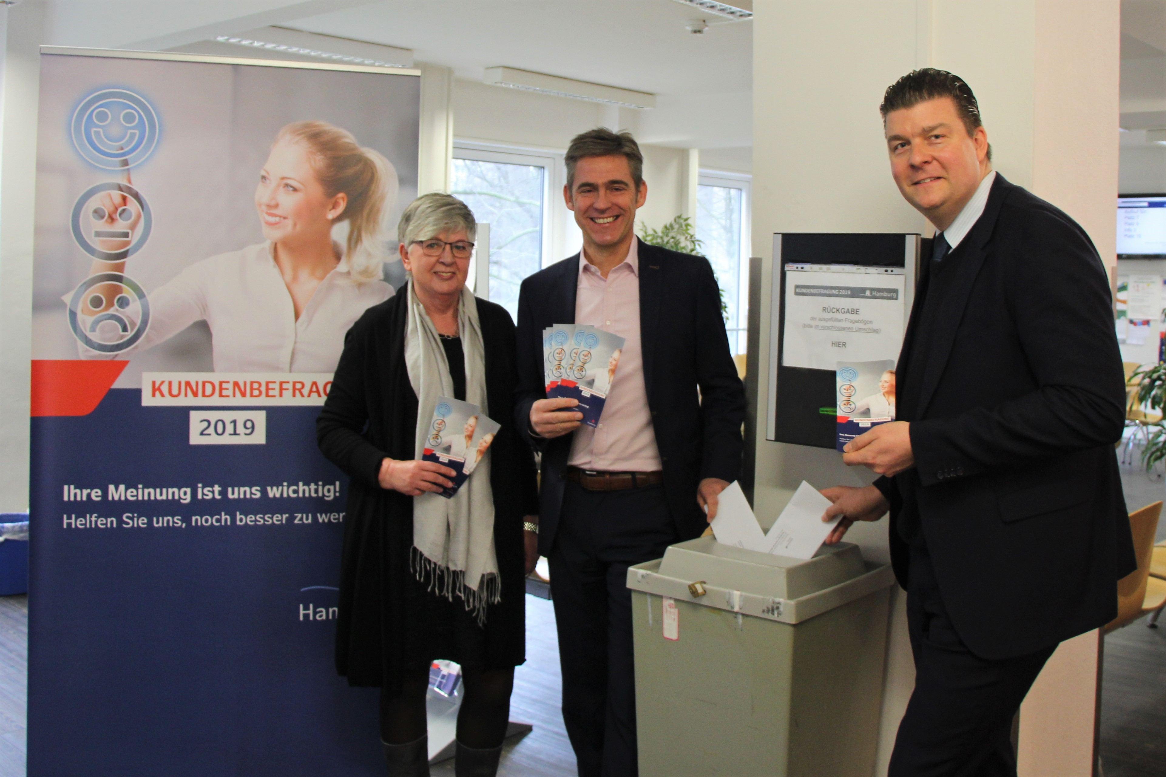 Smileys für Kundenzentrum Eimsbüttel
