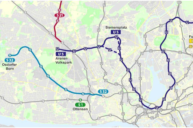U5: Neue Vorschläge für die Bahnen im Hamburger Westen