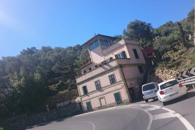 Haus in der Kurve