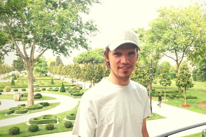 Ich im Park