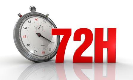 72 Stunden Regel