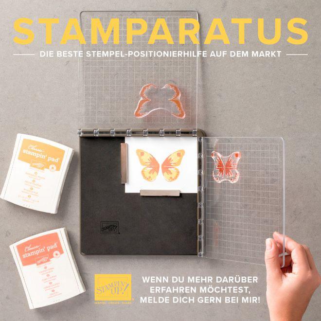 NEU: Stempelpositionierer von SU namens Stamparatus