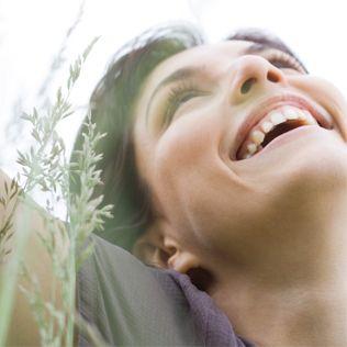 Quelle der Freude, lachen ist gesund