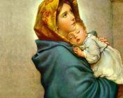 Lichtmeisterin Mutter Maria, die Mutterliebe in Person