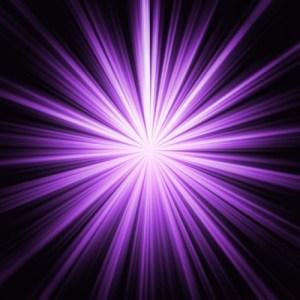 Violetter Strahl oder Violette Flamme, die Energie für Veränderung